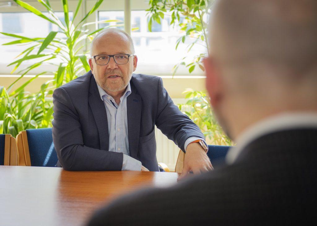 Rainer Zimmer im Interview