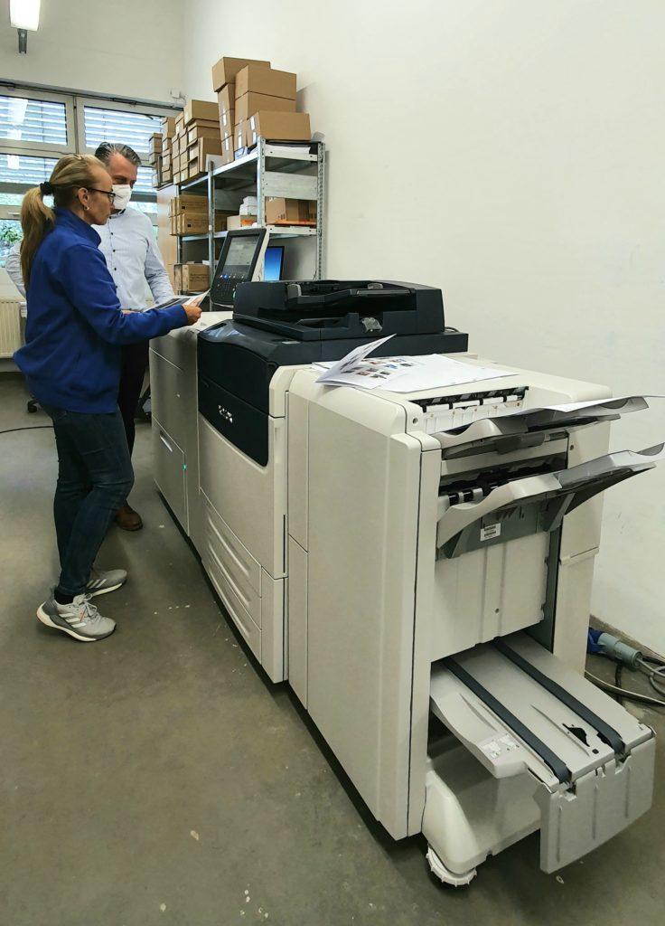 neuer Farbdrucker